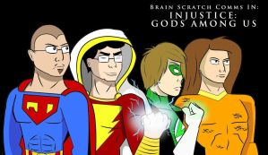Brain Scratch Comms IN: Injustice: Gods Among Us by JDaggs92