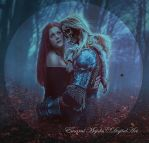 Inmortal embrace by DiosaEMR