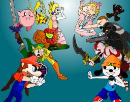 Smash Bros. VS All-Stars by Bladefinger