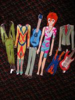 David Bowie Paper Doll by electricsorbet