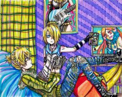 Kagamine's Room by nyuhatter
