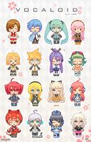 VOCALOID 2012 by Mayuiki