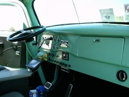 1941 Ford COE drivers office by RoadTripDog