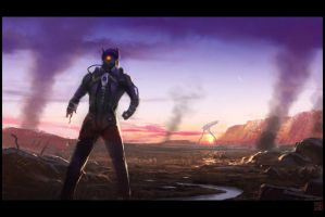 Morning of the Battle by Hideyoshi