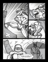 Turtles Comic Page 1 by 0Indiantiger0