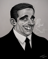 Michael Scott, The Office by tree27