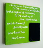 Quote Frame by blankearthdesign