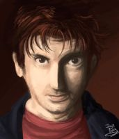 Tennant Digital art Test by IzaPug