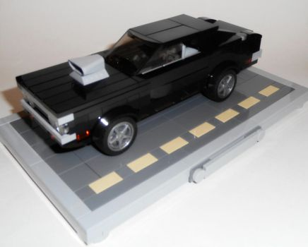 Dom's 1970 Dodge Charger (with stand) by Spooky42
