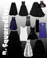 Dress Brushes 4 by B-SquaredStock