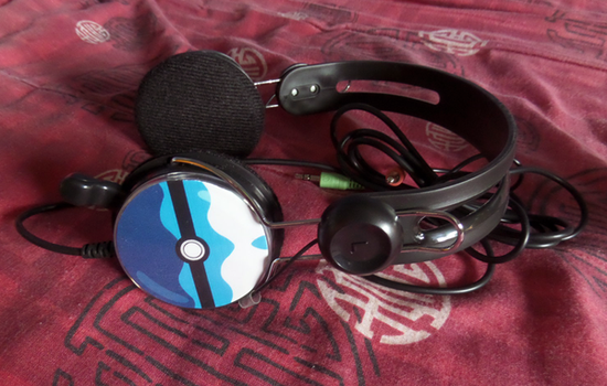 First Place Contest Prize: Dive Ball Headphones by PracticallyGeeky