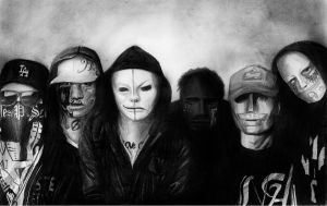 Hollywood Undead by natsutsunablackstar