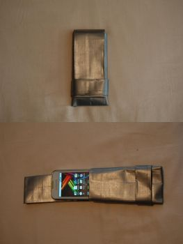 Duct tape mobile cover by Svenningsson