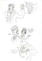 Doctor Who silliness by pixarjunkie