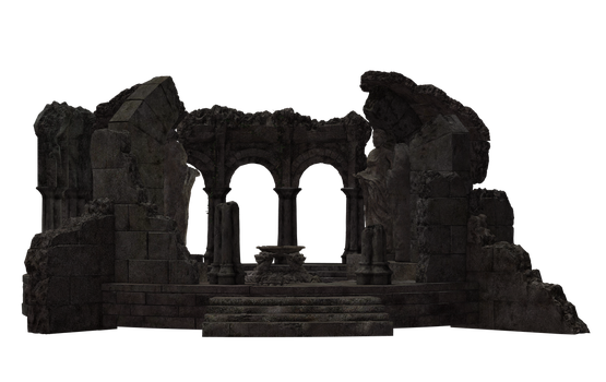 Building - Temple Ruins 02 by Free-Stock-By-Wayne
