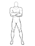 Male Standing Pose by ExpoArtExplorer