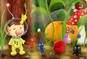 Pikmin by my-darkness
