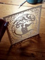 Count The Stars - Original Papercut by PaperPandaCuts