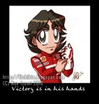 F1chibis- Victory in- DETAIL2 by Noe-Izumi