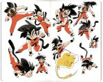 Son Goku by AnthonyHolden