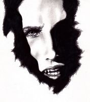 Evil dark shadow of Lestat by darkeners