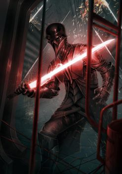 Darth Vader Re-imaginated by CaR-CaSS