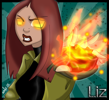 Liz Sherman HellBoy Animated by xXxBloodLustxXx