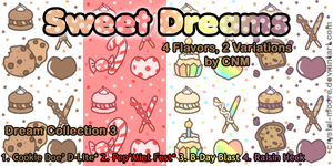 Sweet Dreams Pattern Collection 3 by CNM by Crystal-Moore