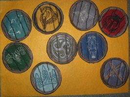 Skyrim Hold Shield Patches by WillowForrestall