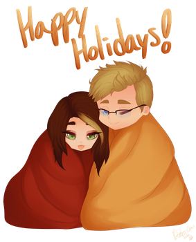 Holiday Cuddles by Potates-Chan