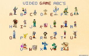 Video Game ABC's by KeithAErickson