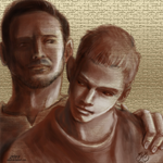 SS August Stiles and Peter by anjyil
