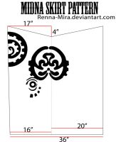 Midna Skirt Pattern by Renna-Mira