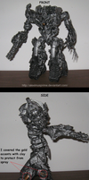 ROTF Leader Megatron custom - with instructions by AleximusPrime