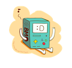 BMO it's the camera! by nay-only