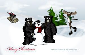 Merry Christmas 2008 by Bleezer