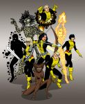 Marvel's New Mutants by xcub
