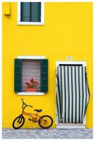 Colours of Burano 2 by Bizzio