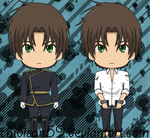 :07-Ghost: Teito Klein by chibisan59