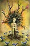 Little dryad by The-autumnwind