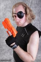 Snake Plissken close-up by KitoCosplay