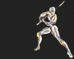 Grey Fox Ninja Wallpaper, MGS by unreal-indy