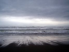 Dark Day At The Beach by shawn1976