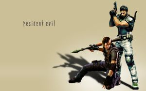 Kennedy and Redfield by AznViper1089