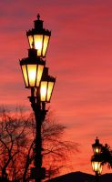 Lamps at Dusk by AgiVega