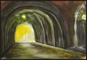 Tunnel Underground by Ludifico