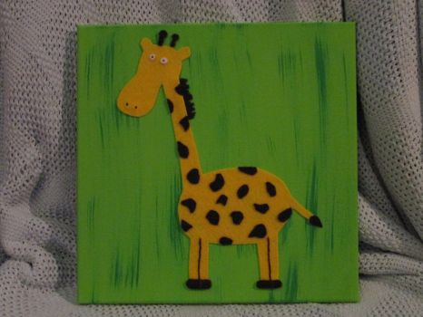 Giraffe 1 by DuctapeFaerie