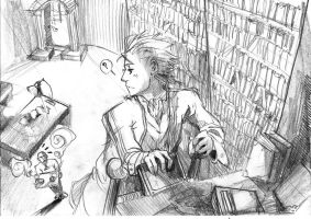Vergil's library by Uncka