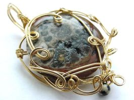 Amun Pendant by sojourncuriosities