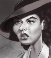 Ingrid Bergman by adavis57